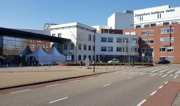 <p>Een beeld van het ziekenhuis, eerder dit jaar.</p>