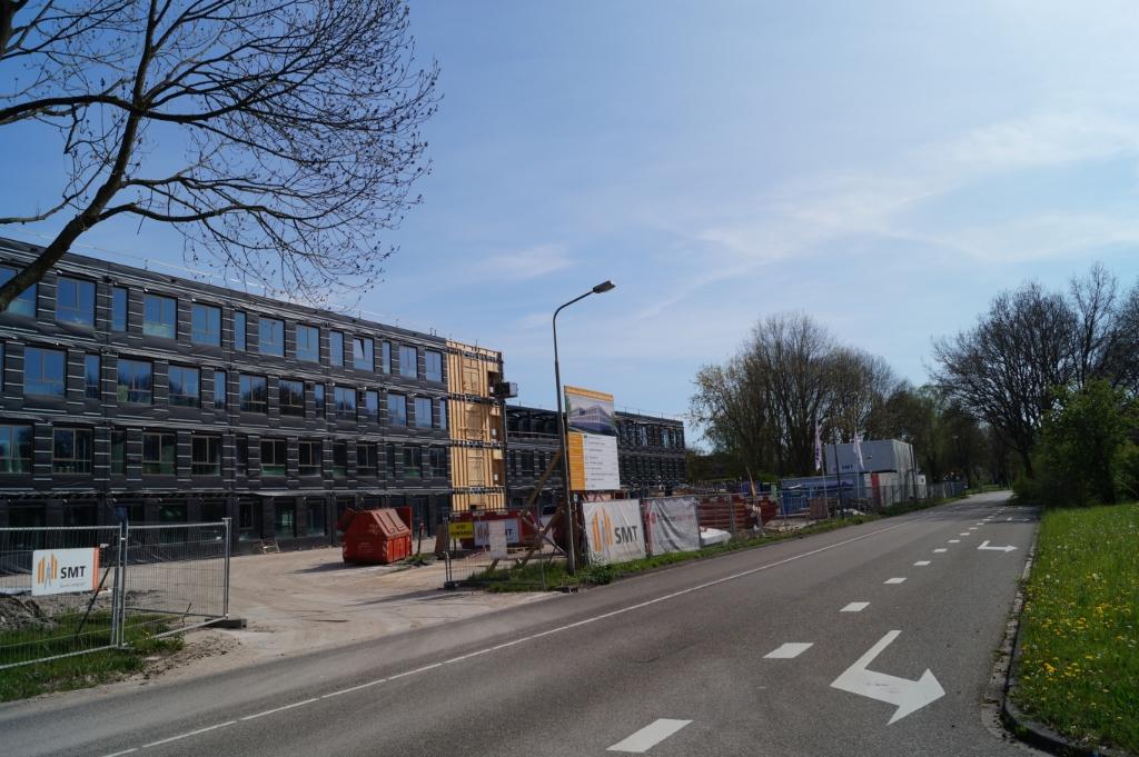 <p>Nieuw gebouw HWC is in aanbouw.</p> <p>Eddie de Blieck</p> © BDU media