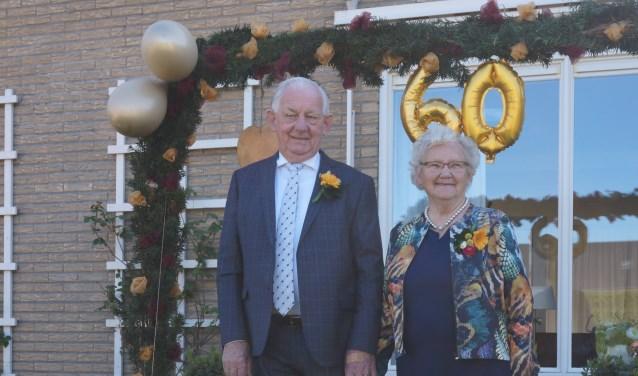 echtpaar Pater 60 jr getrouwd