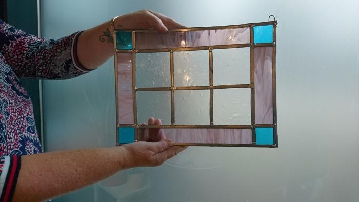 glas in lood raamwerk