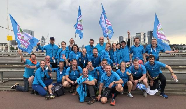 Het team. (Foto: Privé)