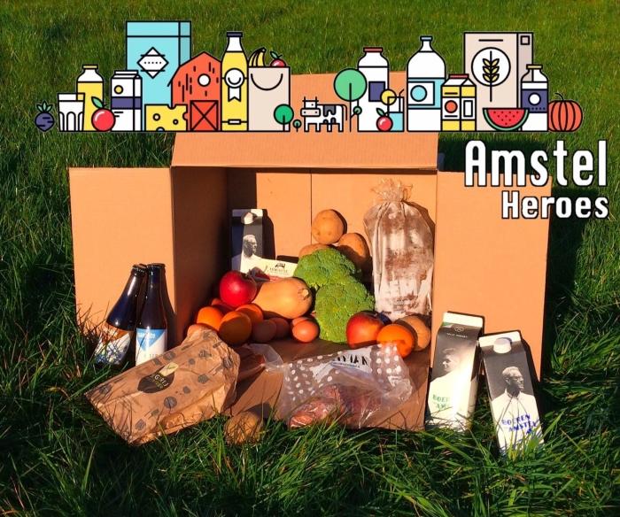AmstelHeroes biedt een pakket met lokale producten