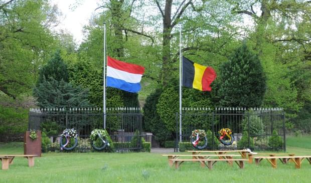 Het herdenkingsmonument op Fort bij Rijnauwen
