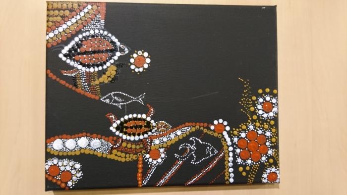 schilderen als Aboriginals