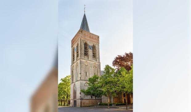 De Oude Kerk in het centrum van Ede.