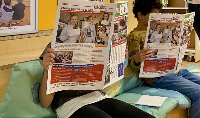 De kinderkrant brengt lokaal nieuws. Eigen foto © BDU media