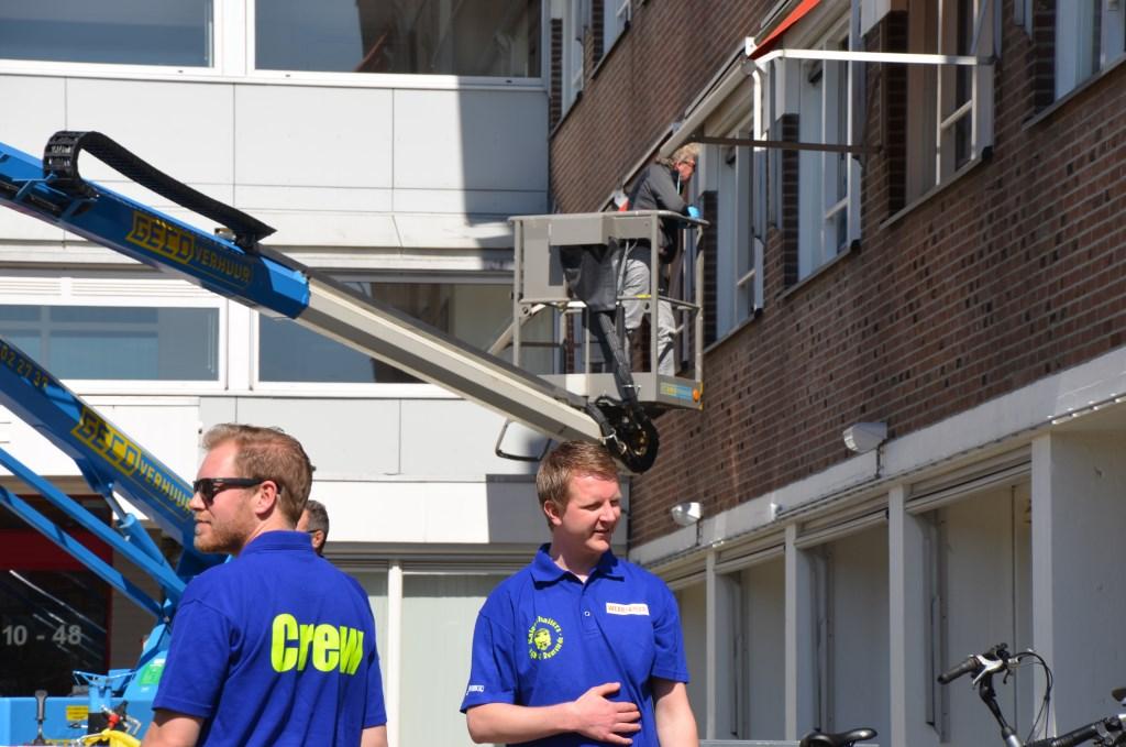 De crew begeleidt  Ali van Vemde © BDU media