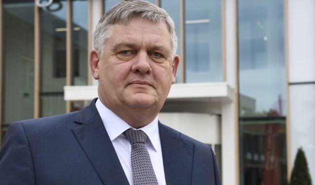 Burgemeester Henk Lambooij.