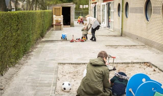 Kinderopvang in actie op één van de locaties van Dolfijn.