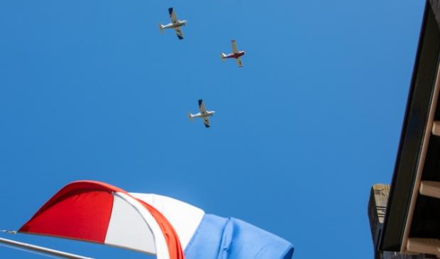<p>De Edambusters vliegen vanavond om 20.02 uur over Baarn.&nbsp;</p>