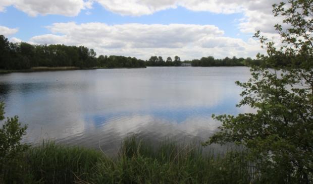 <p>De grote plas in het Haarlemmermeerse Bos.</p>