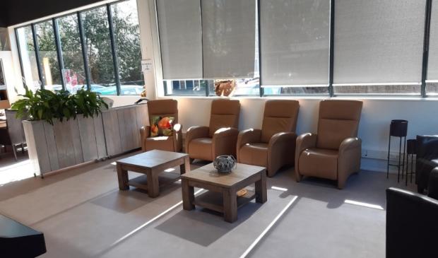 De nieuwe inrichting van het ontmoetingscentrum OC De Vijver © BDU
