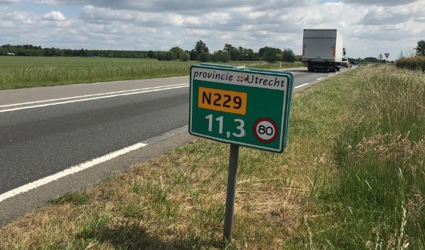Provincie Utrecht kijkt naar de veiligheid van de N229