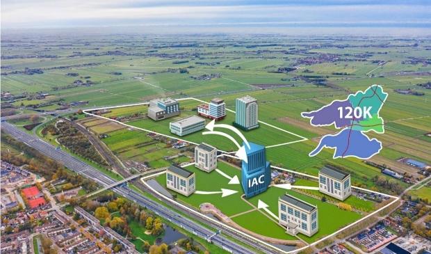 <p>Het Innovatie- en AfstudeerCentrum wordt gevestigd op onderwijslocatie de Hoefslag</p>