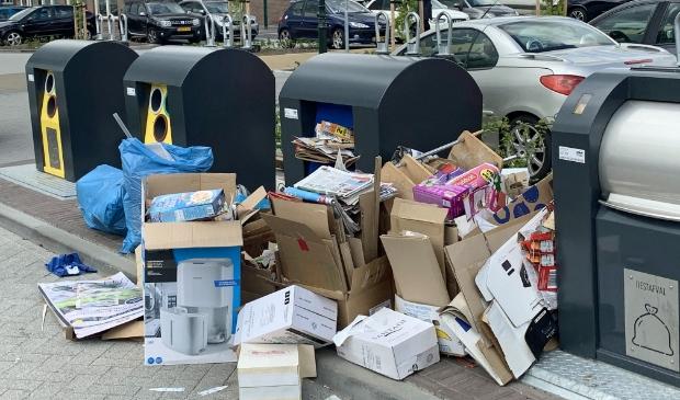 Baarn wordt afgelopen weken overspoeld met dumpingen.