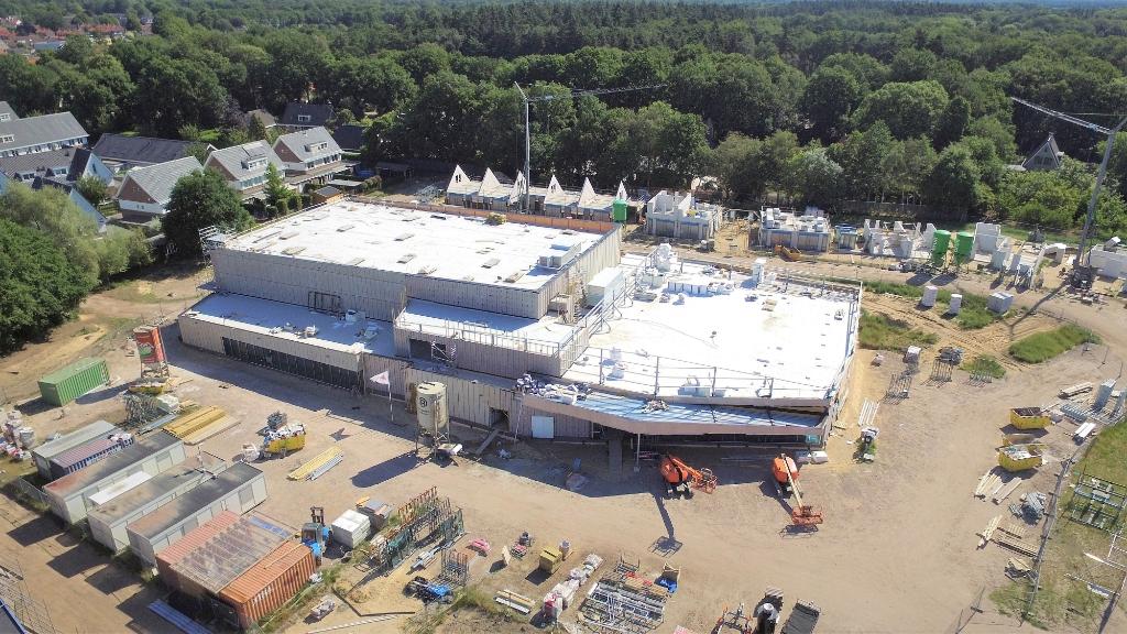 De nieuwbouw van het nieuwe dorpshuis aan de Wikselaarseweg in Voorthuizen Gerwin van Luttikhuizen © BDU media