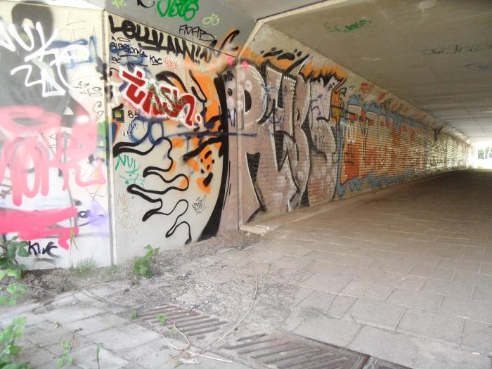Entree fietstunnel A10 oa naar Entrada Chris van der Linden © BDU media