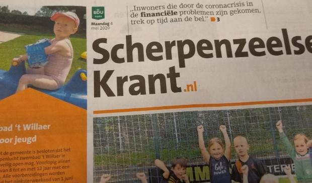 Voor de continuïteit van de Scherpenzeelse Krant.nl is alle steun nodig.
