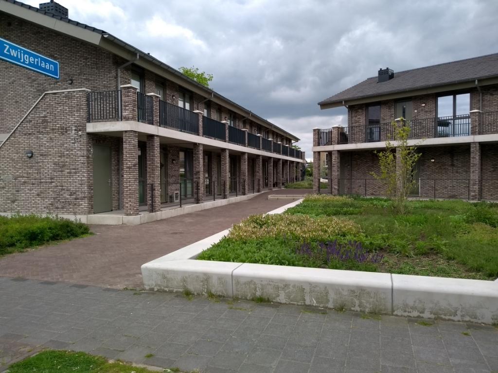 Woningen op de plek waar eerst basisschool 't Palet stond. Daan Bleuel  © BDU media