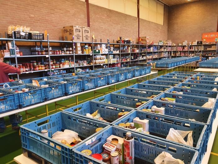 voedselbank Mirjam Gelinck © BDU