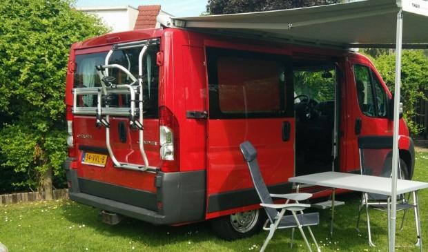 Ook campers kunnen worden aangepast zodat rolstoelen een veilige plek hebben.