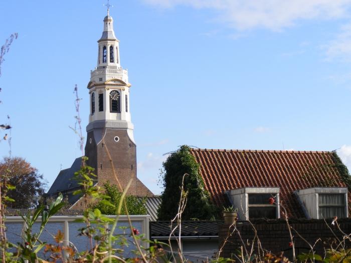 de toren van de tuin bij Huize de Brink