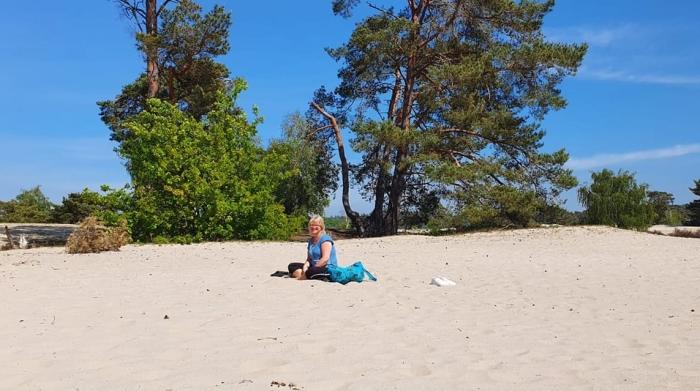 Yogadocente en Mind-Walk trainer Ria Voerman Ria Voerman © BDU media