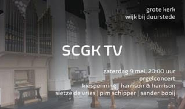 Orgelconcert SCGK TV