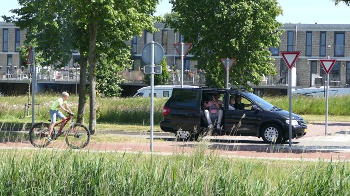 Filmopnamen Floriande-Noord Melanie Mensink © BDU media