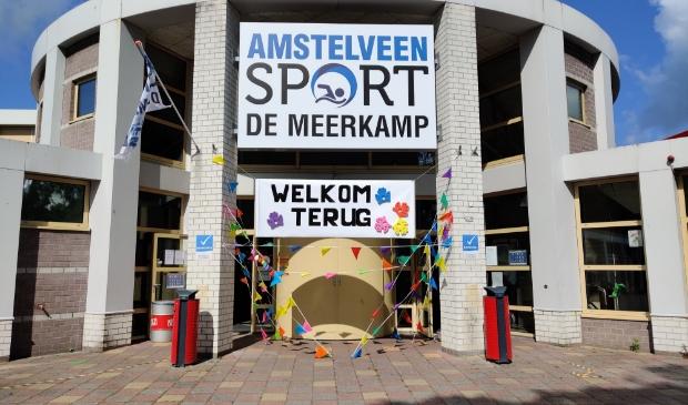 Zwembad De Meerkamp is weer in bedrijf.