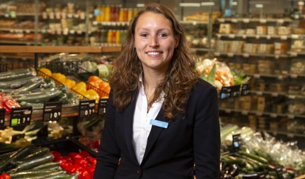 Supermarktmanager Chantal van Moorselaar: 'Albert Heijn Overhees krijgt complete metamorfose.'