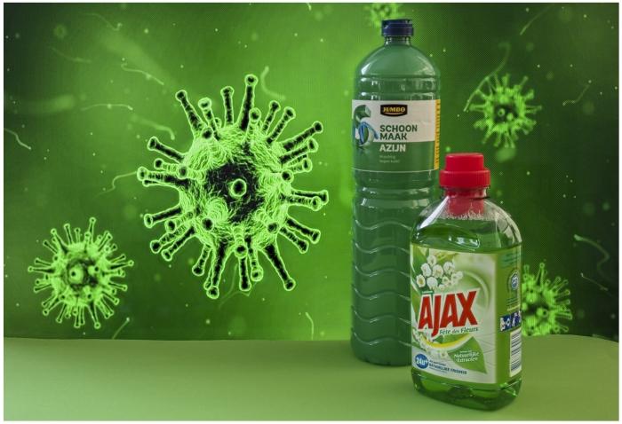 corona virus in ``groen`` Ab van den Pol  © BDU media