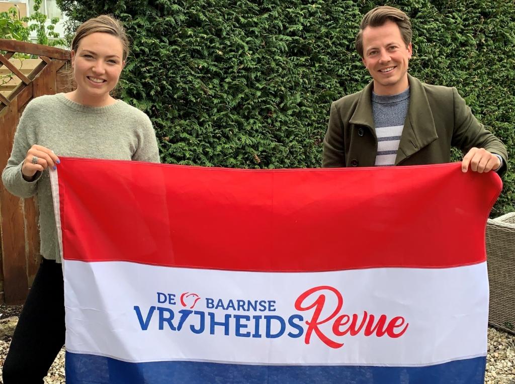 Manon Blaauw en Kevin van den Berg.