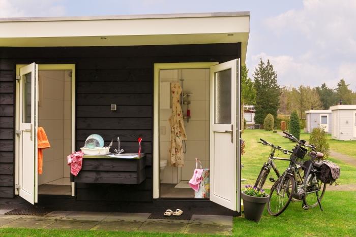 Ook zijn er campings met privésanitair, zoals camping Boslust
