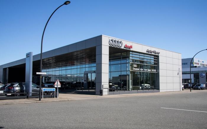 De Audi locatie aan de Zuiderbreedte gaat verder als Pouw Harderwijk.