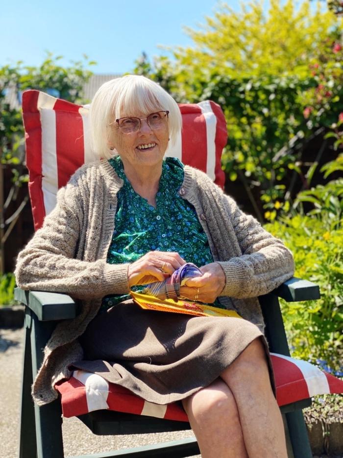 Cathrien van Ballegoy-Cligge op deze foto 99 jaar oud Eigen foto © BDU media
