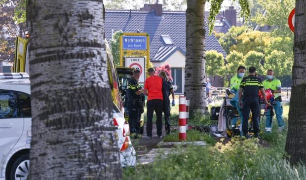 Ongeluk met een wielrenner op de Achterdijk Koen Laureij © BDU media