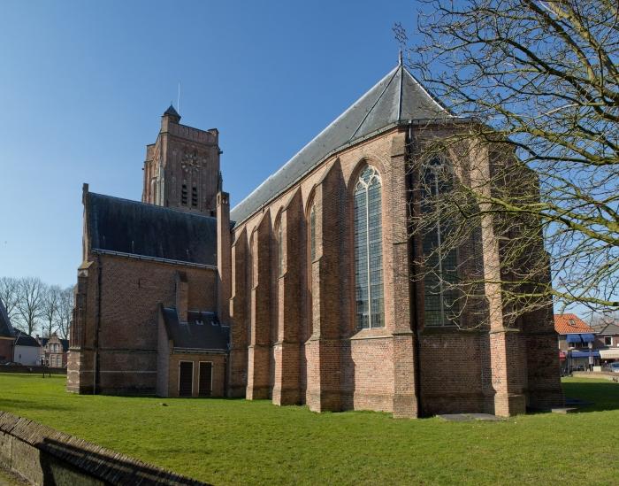 Martinuskerk Woudrichem koorzijde