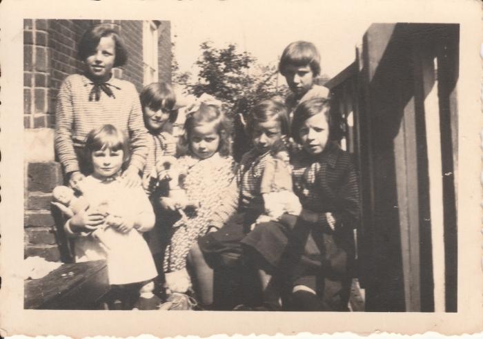 Met broers en zussen familie Cligge Eigen foto © BDU media