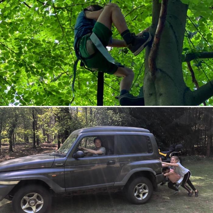 De outdoor training voor de jeugd is een groot succes Edgar Kruyning © BDU Media