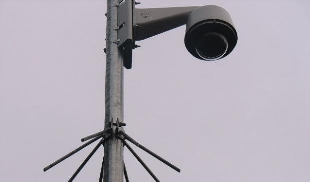 Buiten de Waterpoort worden nog geen camera's geplaatst