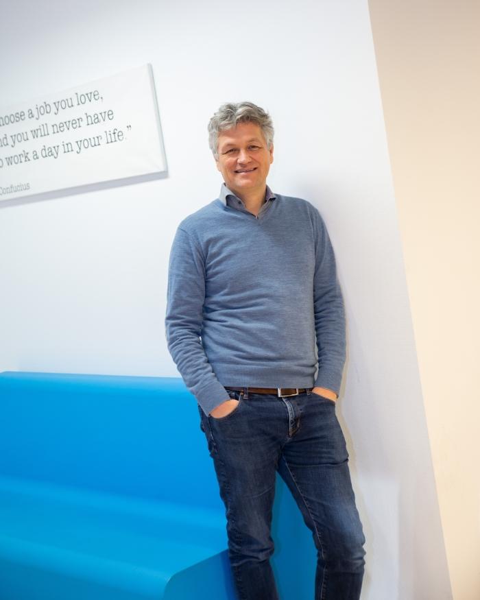 Ramon van Wingerden, directeur van het Haarlemse IT bedrijf Prindustry Danto © BDU media