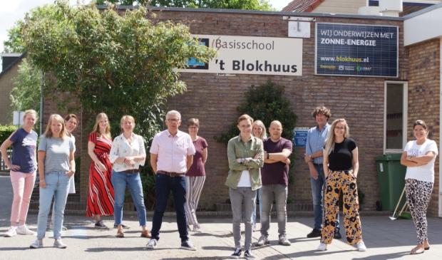 Een groot deel van het team van het 't Blokhuus.