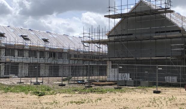 De woningbouw in Rimpeler moet er toebijdragen dat de gewenste bouw van 1100 nieuwe woningen in 2025 wordt gehaald.