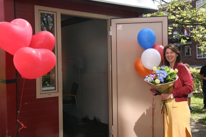 Sheila Willemse, initiatiefneemster van de doneeractie PR Kennemerhart © BDU media
