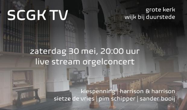 SCGK orgelconcert