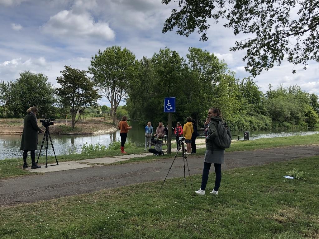 RTV Utrecht kwam opnames maken De Windroos © BDU media