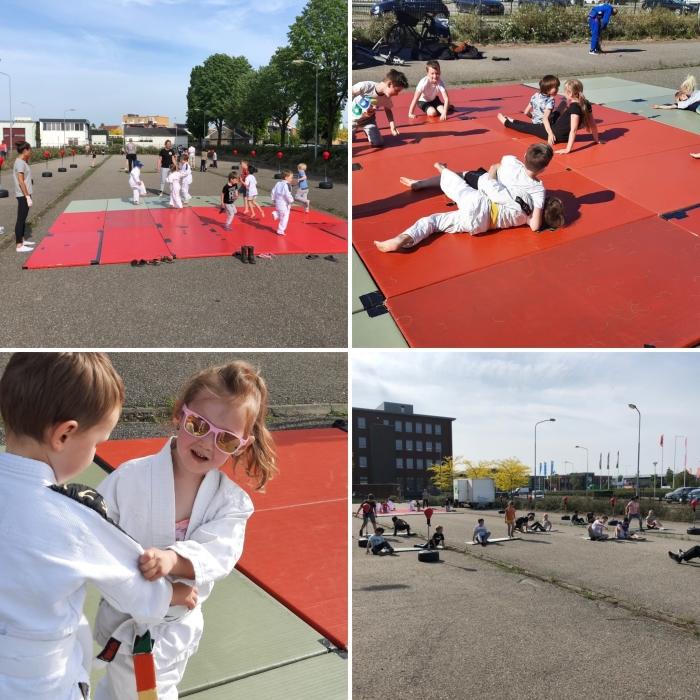 De jeugd is weer helemaal blij te mogen sporten! Edgar Kruyning © BDU Media