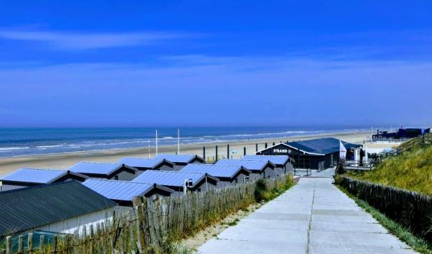 <p>De strandopgang bij Zandvoort.</p>