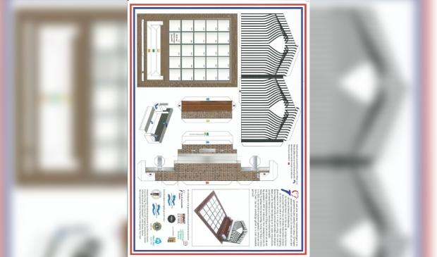 bouwpakket Herdenkingsmonument